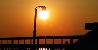 iluminação com energia solar
